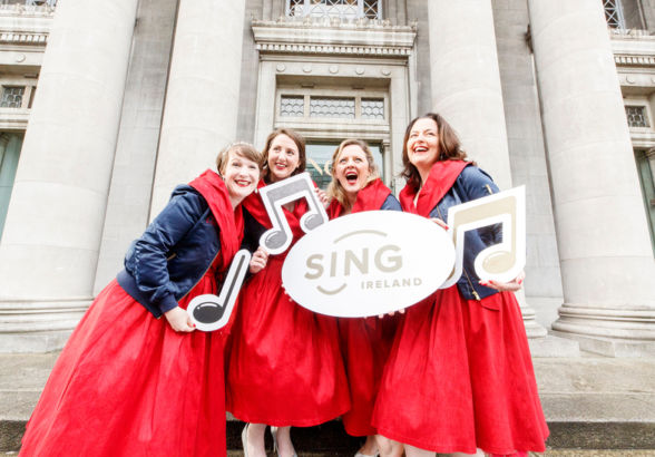 Sing Ireland Launched - Calling all singing enthusiasts and music lovers!