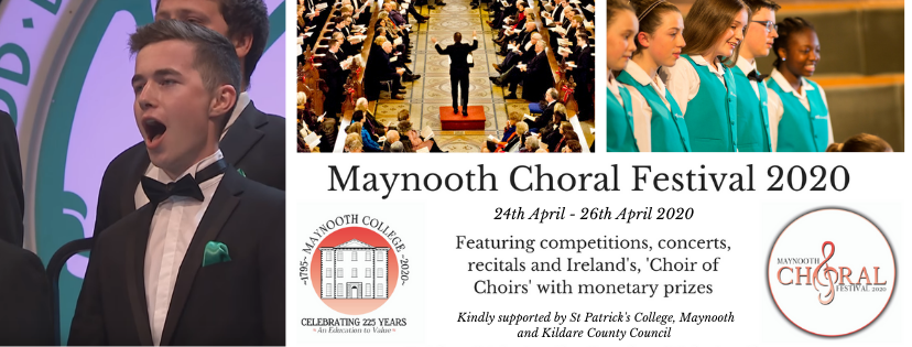 Maynooth Choral Festival 2020 - Cancelled due to COVID-19