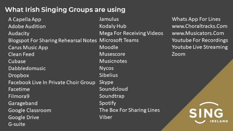 What Can Singing Groups Do Now Ppt 2