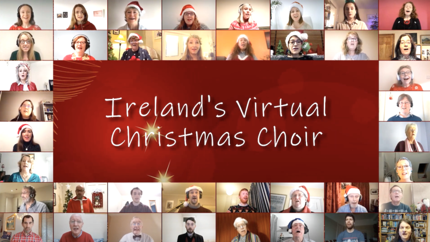 Tis The Season! Ireland's Virtual Christmas Choir